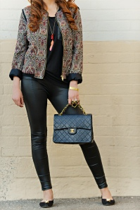 Paisley and Leather